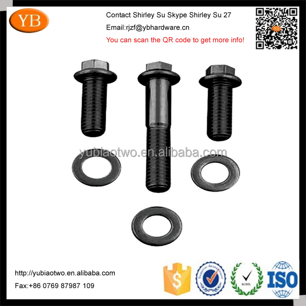 black oxide stainless steel fasteners by professional factory