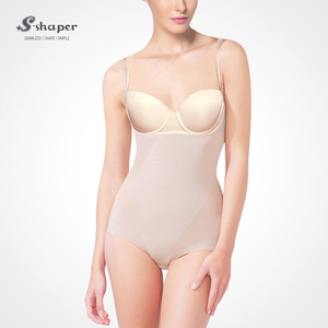 S-SHAPER Fashion Seamless Slimming Underbust Body Shaper With Adjustable Strap