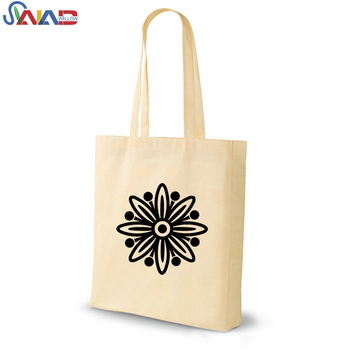 Custom Plain Tote Bag Cotton With Logo Printing