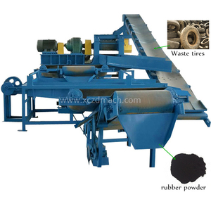 Waste tire recycle machine/used tire recycling plant/scrap tire recycling equipment