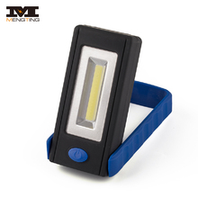 Cordless Rotating Portable Magnetic Touch Light COB Work LED Light Worklight