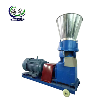Kleine Model Flat Die Wood Pellet Mini Granulator