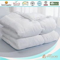 elegant factory price hypo-allergy soft like down quilts