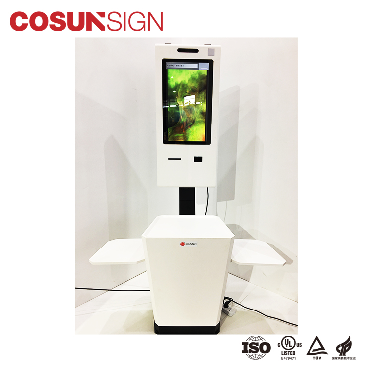 China Stand Touch Screen Self Ordering Drive Thru Kiosk Enclosures In Restaurant