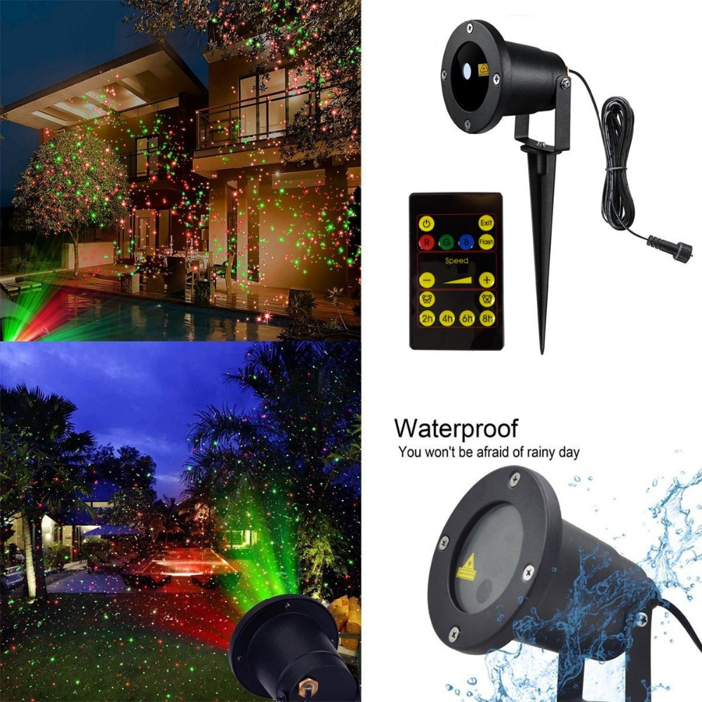 Star Light,Waterproof Outdoor Laser Lights Star Landscape ...