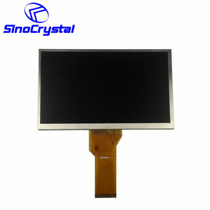"China Big Viewing Angle 7"" inch tft 800x480 Color Can Bus Lcd Display screen"