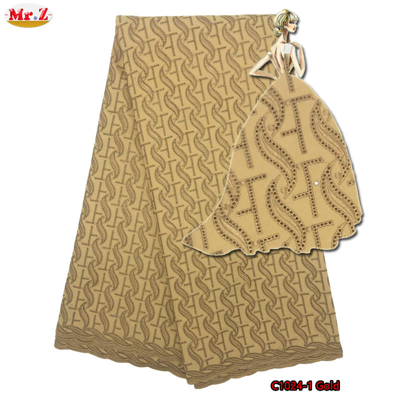 Mr.Z High Quality African Polish Lace Fabric For Men