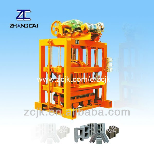 Cost Effective QTJ4-40II Small Manual Standard Brick Machine 2012 Olympic