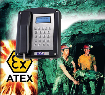 KNTECH Factory Price Analog/ VoIP EX Mine Underground Explosion Proof Telephone