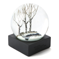 3D Tree Colorful Snow Globe With Blowing Snow