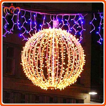 Outdoor Use 80*80cm Wholesale Large Plastic Ball Christmas Ornaments