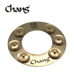 CHANG Circle Bell Cymbals Effect Cymbals For Drum Accessory