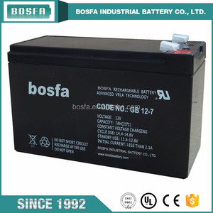 agm 12 v 7 ah ups Industrial sealed lead acid 12 volt sla battery