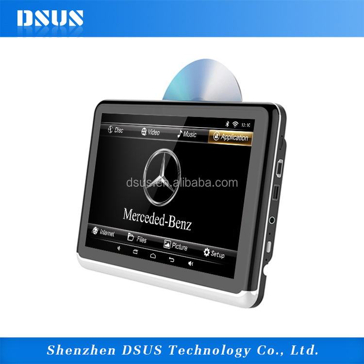 Car DVD A10D 10 inches digital Radio portable dvd player with fm usb