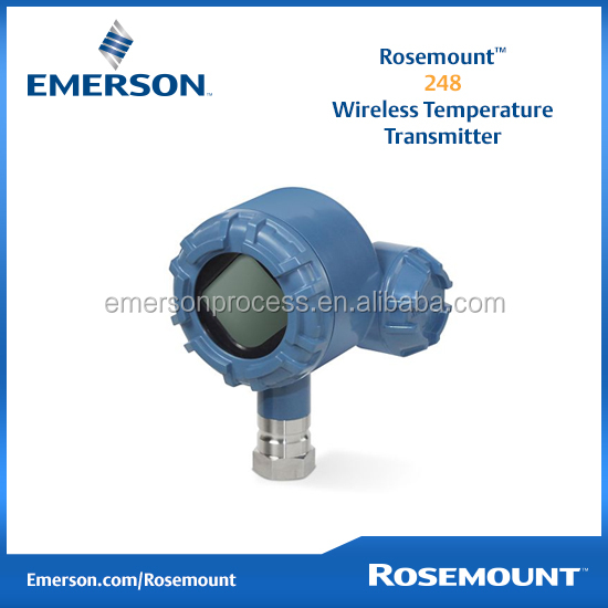 Emerson Rosemount New 248 Wireless Temperature Transmitter
