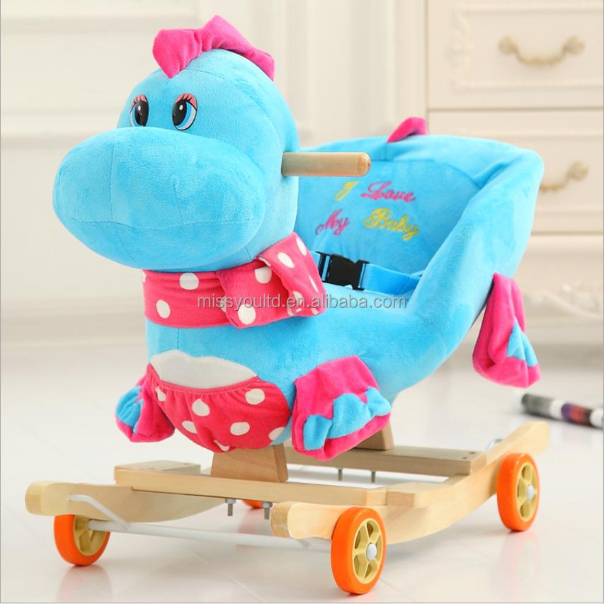 High quality child Music rocking horse