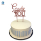 ROSE GOLD WEDDING PARTY GOD GAVE ME YOU CAKE DECORATION WOODEN CAKE TOPPER