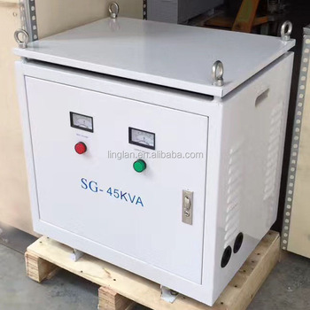 45kva 220v 380v step down/up transformer