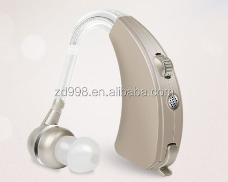 2017 New Design Good Quality BTE Digital Hearing Aid External Amplifier