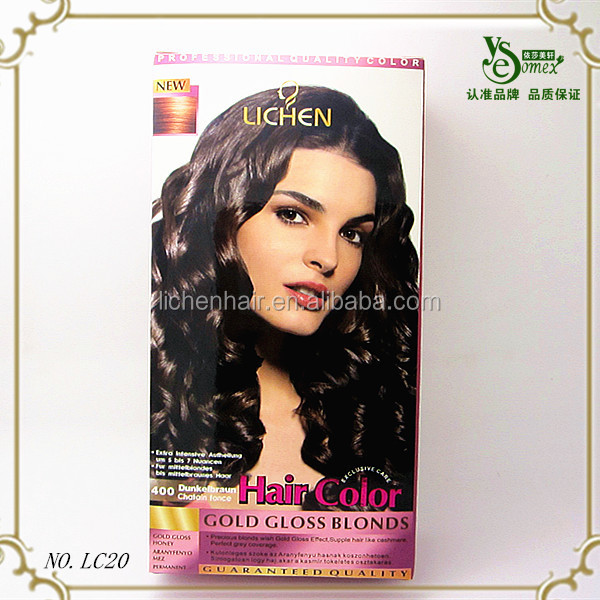 Black Rose Hair Dye Cream Oem Accept Hair Dye Without Chemicals