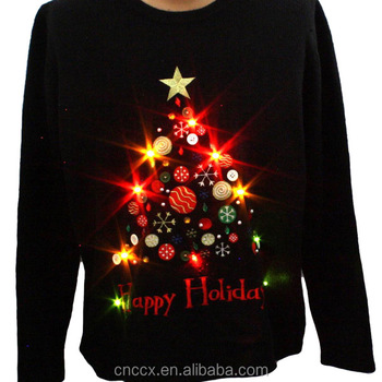 14stc8055 2016 High Quality Christmas Sweater With Led Lights Buy Christmas Sweater With Led Lights Mens Christmas Sweaters Women Christmas Sweaters