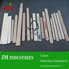 eco-friendly with handle bamboo paint stir sticks