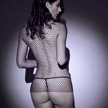 Most popular professional breathable fishnet nylon body stocking