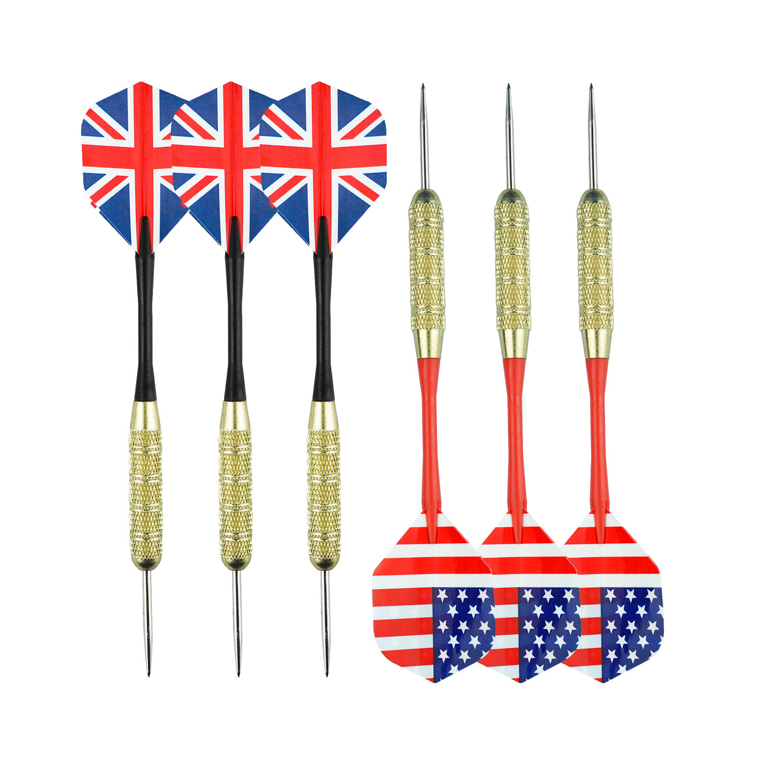 Factory Direct Sale 6 Pcs Soft Tip Darts 18 Grams Attach Extra 50 PCS 2BA Replacement Tips
