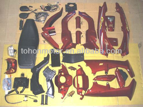 Motorcycle Body Parts Plastic Covers for YAMAHA Crypton