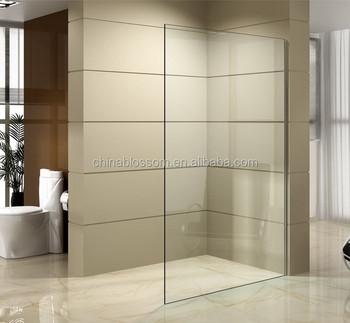 Marvelous New Arrival One Piece Tempered Glass Shower Door Design,shower Wall,shower  Screen