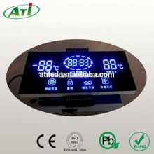 Custom design led display time and temperature led board