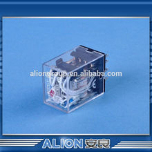 Mini relay 1 s retardo de tiempo, Electrical relay my4n 110-120vac, Mercurio de temperatura tipo relay