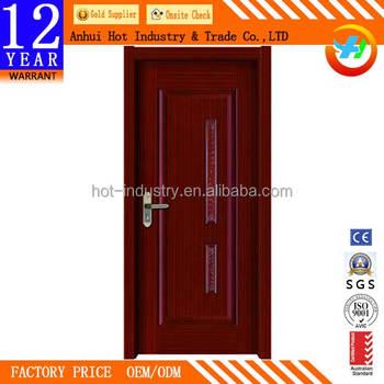 high quality interior curved wooden door bedroom soundproof pvc wooden door wholesale cheap price bedroom door - Soundproof Bedroom Door