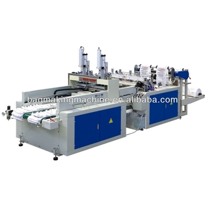 high output 1 line automatic used t-shirt bag making machine
