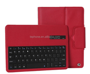 For Apple iPad Air Wireless Removable Blue Tooth Keyboard & Leather Case -IP051