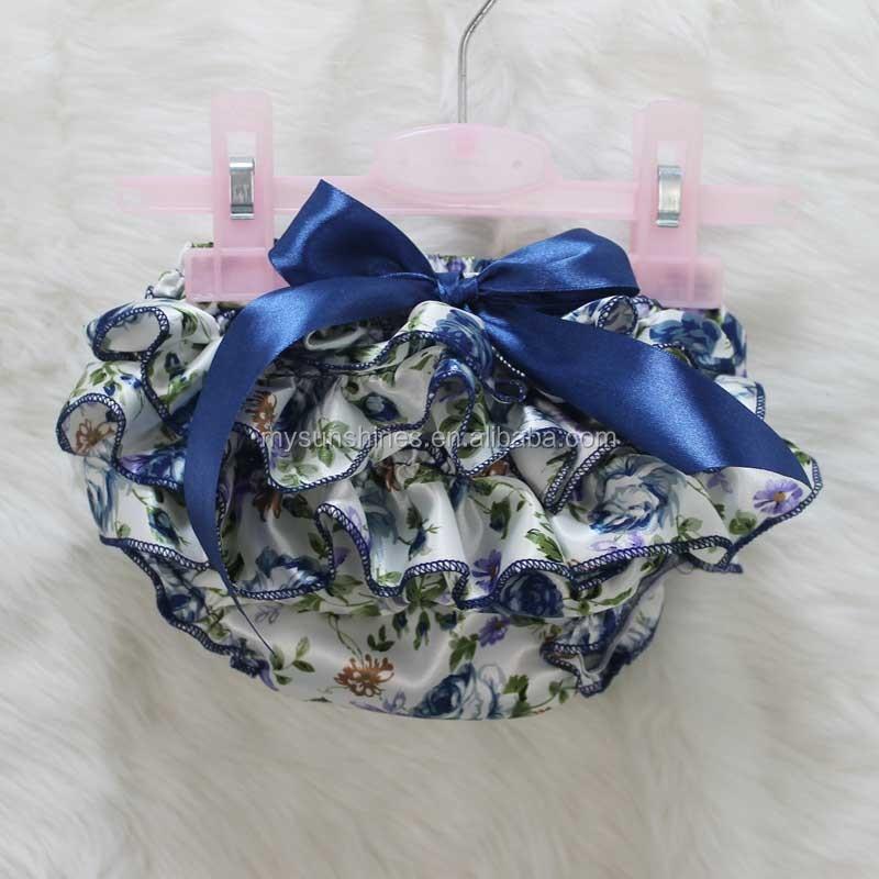 Ropa de bebé recién nacido lindo patrones de flores de satén para ...