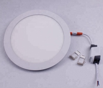 High Quality 9W 85-265V Round Recessed Aluminum Small Led Panel Lighting Ceiling