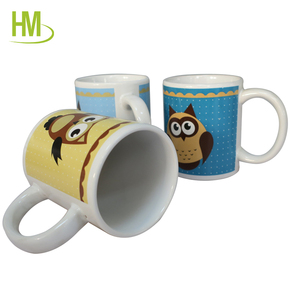 Kids gift sets wholesale cute ceramic coffee mug
