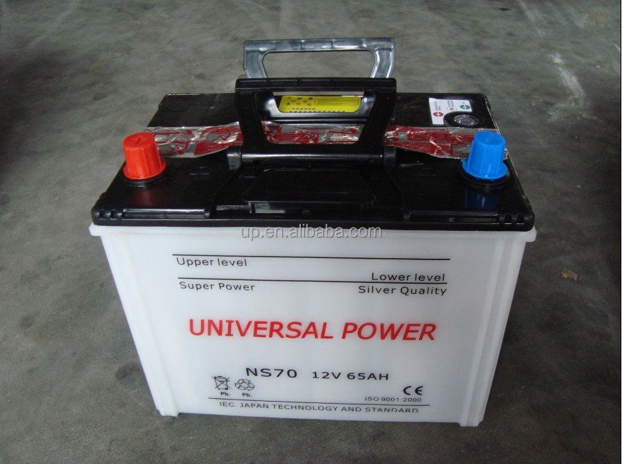 NS70 12v65ah car battery wholesale auto batteries 12v with competive price