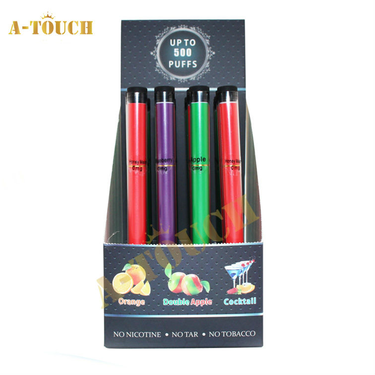 Best Quality ShiSha Hookah Colored Smoke Pen 500~1200Puffs Reusable Shisha Hookah Pen