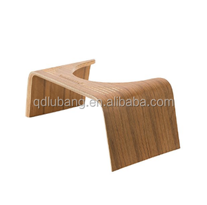 Wholesale Natural Bamboo Wood Bathroom Toilet Squatting Stool
