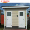 New style fabricated toilet container house canada