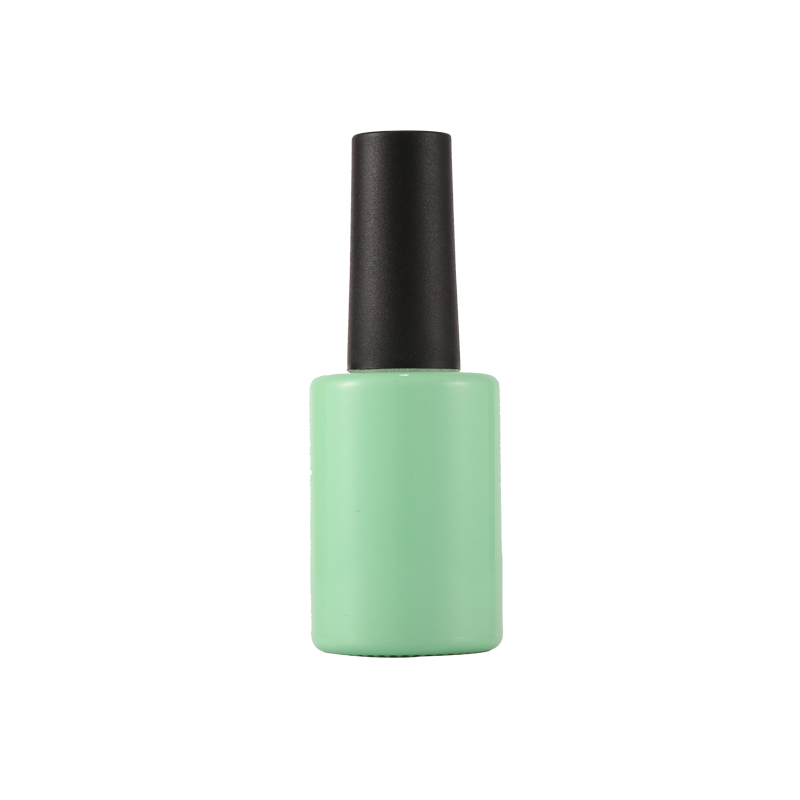 Candy Green Color Sweet Color Nail Gel Polish Bottle