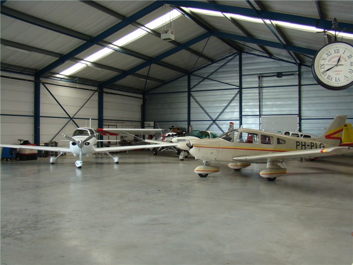 Large Span Light Steel Fabrication Portable Aircraft Hangar For Sale