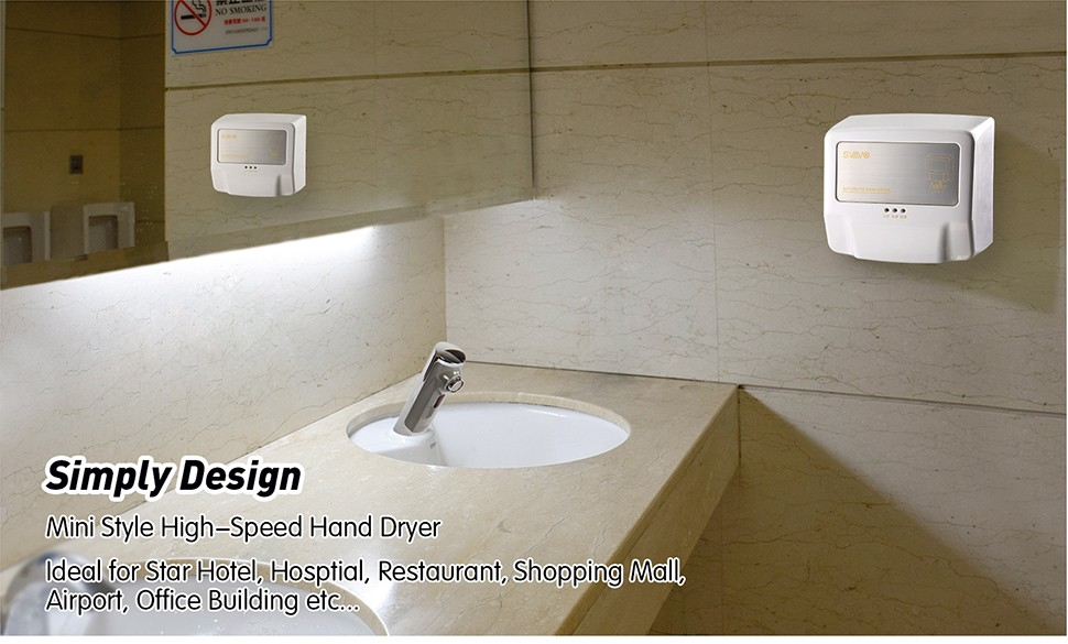Infrared Sensor Electric Hand Dryer Automatic Hand Air Blower For - Hand blower for bathroom