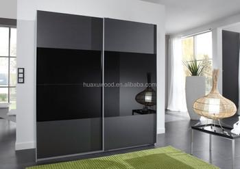 Armadio Nero Ante Scorrevoli : Hxsl151 60 huaxu porta scorrevole armadio nero e argento mobili