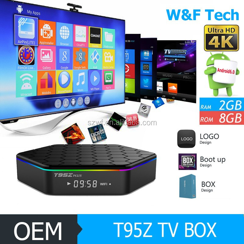 4 k satellietontvanger internet tv box t95z plus octa core s912 android 6 0 tv box set top box. Black Bedroom Furniture Sets. Home Design Ideas