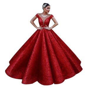 China Hot Red Gown 027d79851