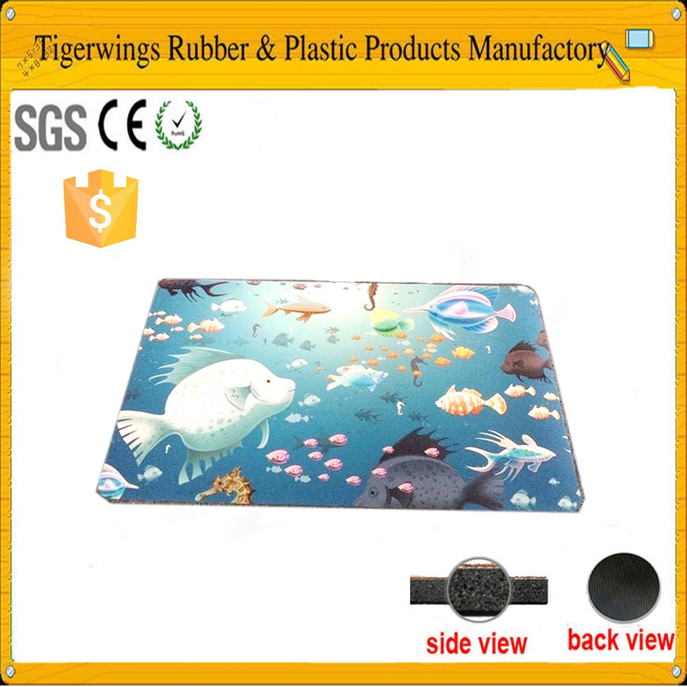Tigerwings hot sale professional fancy gift computer gaming mouse pad