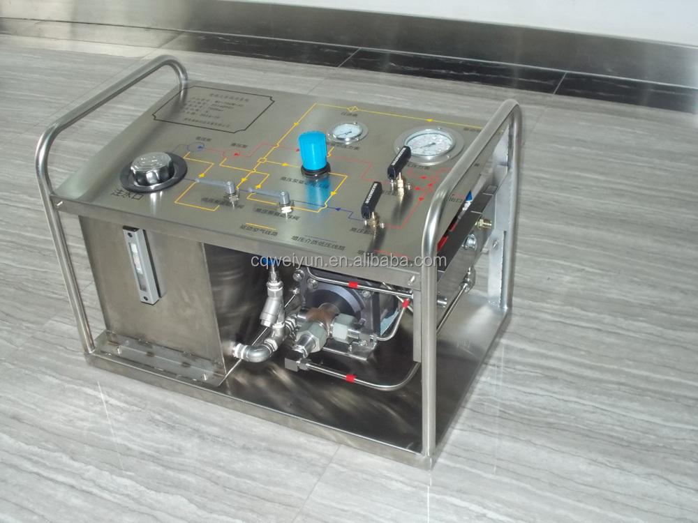 Where Can I Get High Pressure Air : Portable high pressure pneumatic hydrotest pump buy